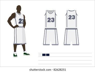 Team basketball equipment