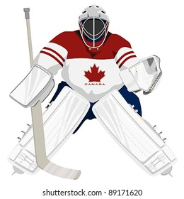 Hockey Goalie Images Stock Photos Vectors Shutterstock