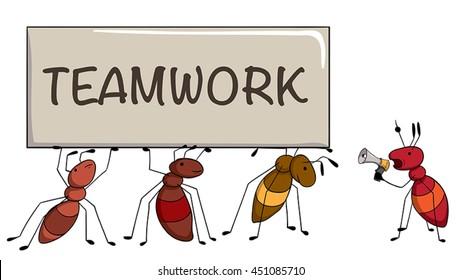 Ants Teamwork Images, Stock Photos & Vectors | Shutterstock - photo#2