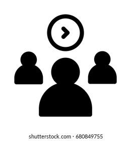 Team login icon