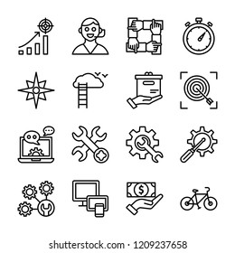 Team Services And Tools Icons