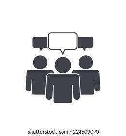 team talk icon