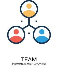 Team Vector Icon
