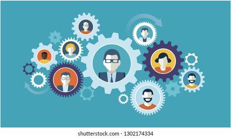 team work business