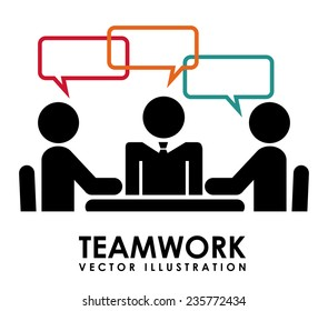 teamwork  design , vector illustration