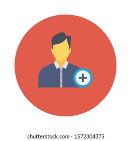 Teamwork flat icons for  account &  profile