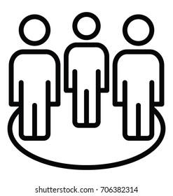 Teamwork Vector Icon