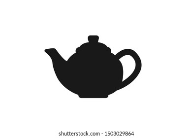 teapot icon vector illustration  isolated on white background
