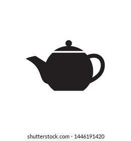 Teapot Icon Vector Simple design