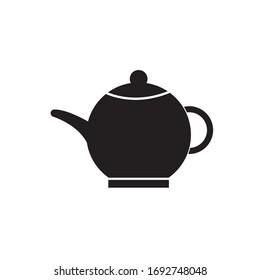 Teapot Icon Vector Simple design template