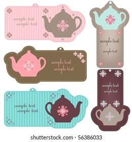 teapot tags