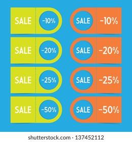 Tear Off Sale Labels