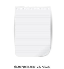 tear sheet notepad