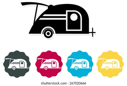 Teardrop Trailer  Icon