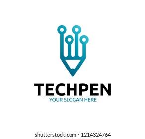Tech Pen Logo