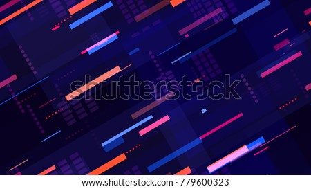 photo about Lite Brite Free Printable Patterns referred to as Tech Seamless Behavior Brilliant Pace Strains Inventory Vector