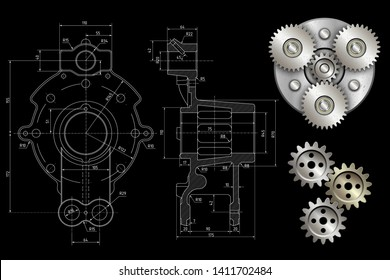 Planetary Gear Images, Stock Photos & Vectors | Shutterstock