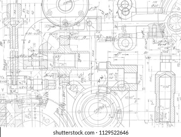 Mechanical Drawing Images, Stock Photos & Vectors | Shutterstock