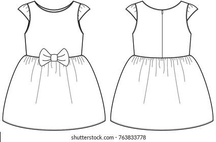 Dress Drawing Images, Stock Photos \u0026 Vectors