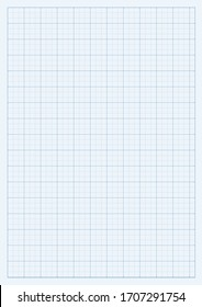 Technical grid background with space for your content. Vector editable mockup illustration. Vertical oriented pattern background made in proportional size.