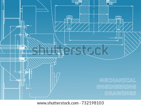 technical illustration mechanical engineering backgrounds