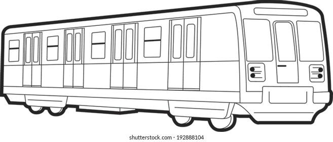 Technical Subway wagon