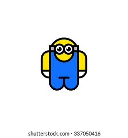 technician robot toy. vector icons, emblem, symbol For Your Design