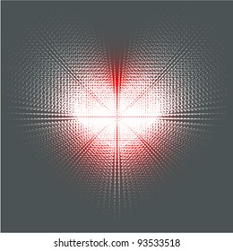 techno concept dotted heart shape illustration (EPS) (ideal for, gift, surprise, shopping, announcement etc.)