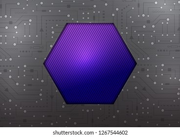 Technological Background .Electroplate, vector