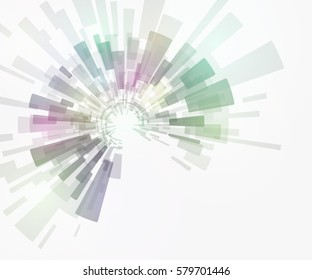 technological pattern abstract background, vector illustration