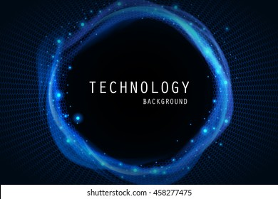 Technology abstract background.