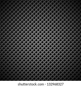 Technology background with seamless black carbon texture for internet sites, web user interfaces (UI), applications (apps) and business presentations. Vector Pattern