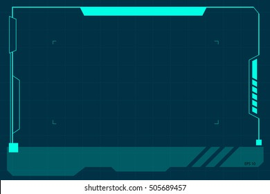 frame futuristic images stock photos vectors shutterstock https www shutterstock com image vector technology border 505689457