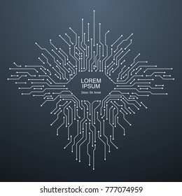 technology circuit background