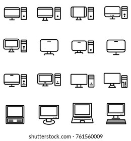 Technology and computers icon. Network and mobile devices