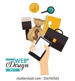 Technology concept with Gadgets design, vector illustration eps 10