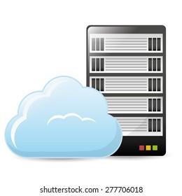 Technology design over white background, vector illustration.