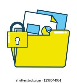 technology digital folders information