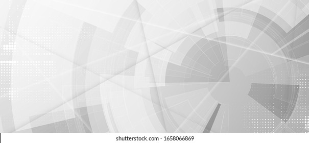 Technology futuristic background for business presentation