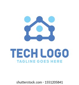 Technology Logo Design Inspiration For Business And Company