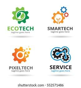 Technology Logo Template Design Vector/ Icon Design