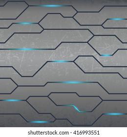 Technology textured background