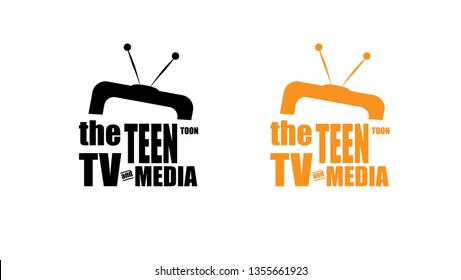the teen toon TV and media logo icon or sign for cartoon channel