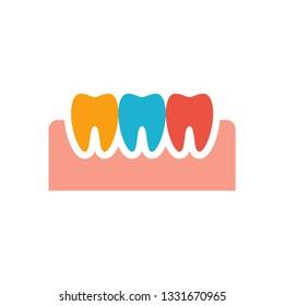 Teeth Gum Icon Template