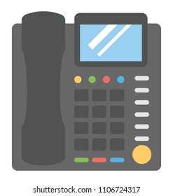 Telecommunication device, landline business phone