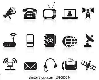 telecommunication icons