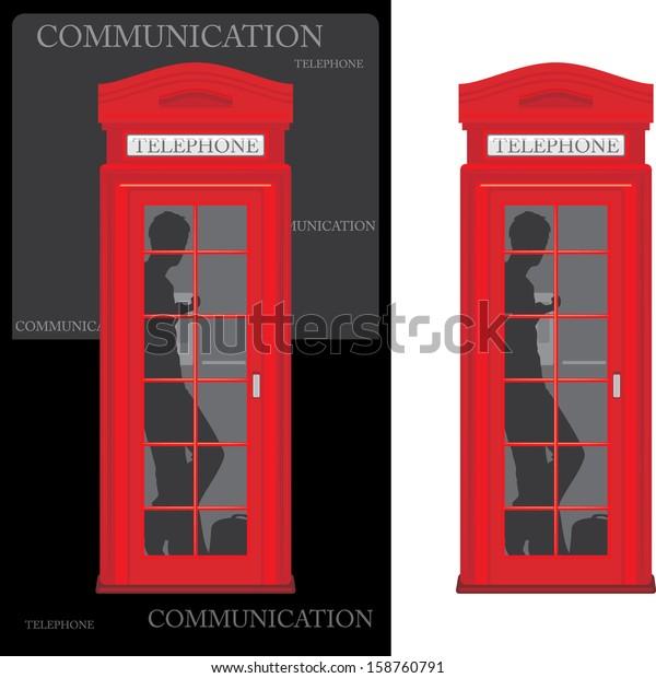 telephone-box-isolated-on-white-600w-158