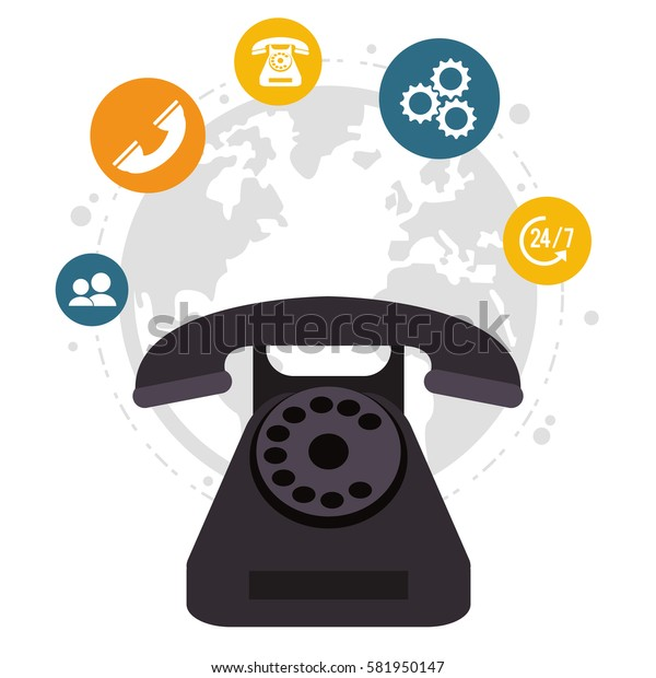 telephone call center all day global service