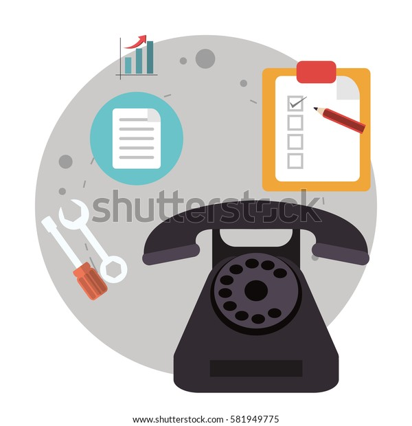 telephone call center logistic