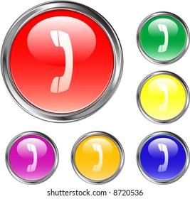 Telephone Handset Buttons